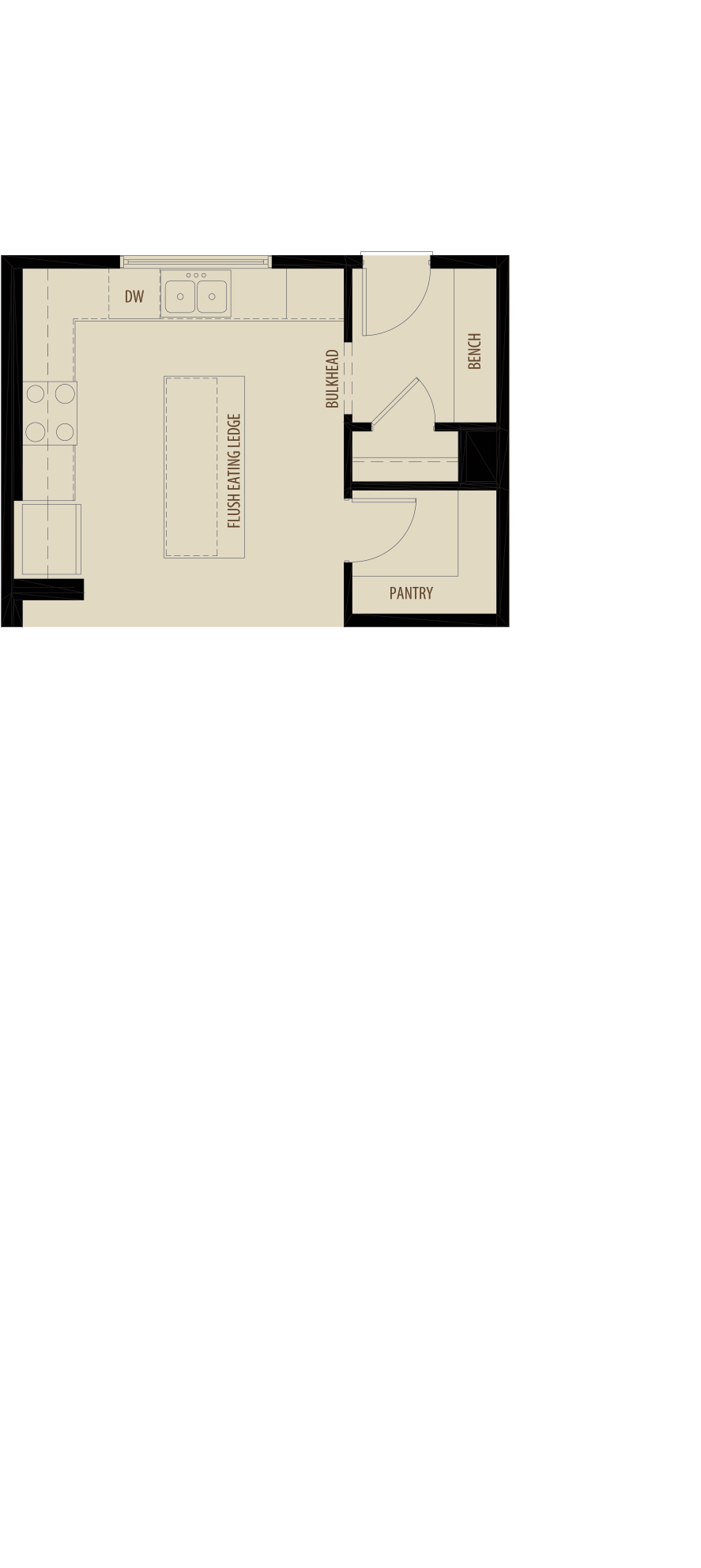 Rear Kitchen