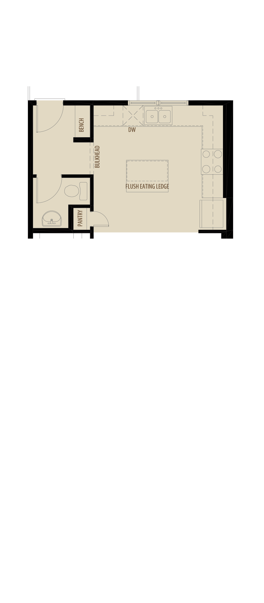 Used with Option 1 revised Main Floor
