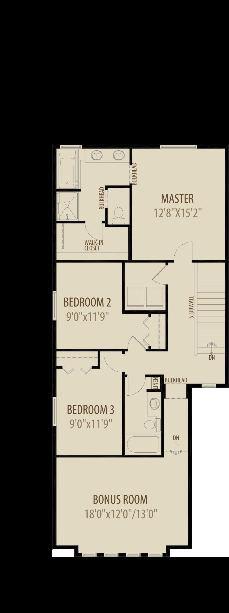 Option 2 Revised Upper Floor