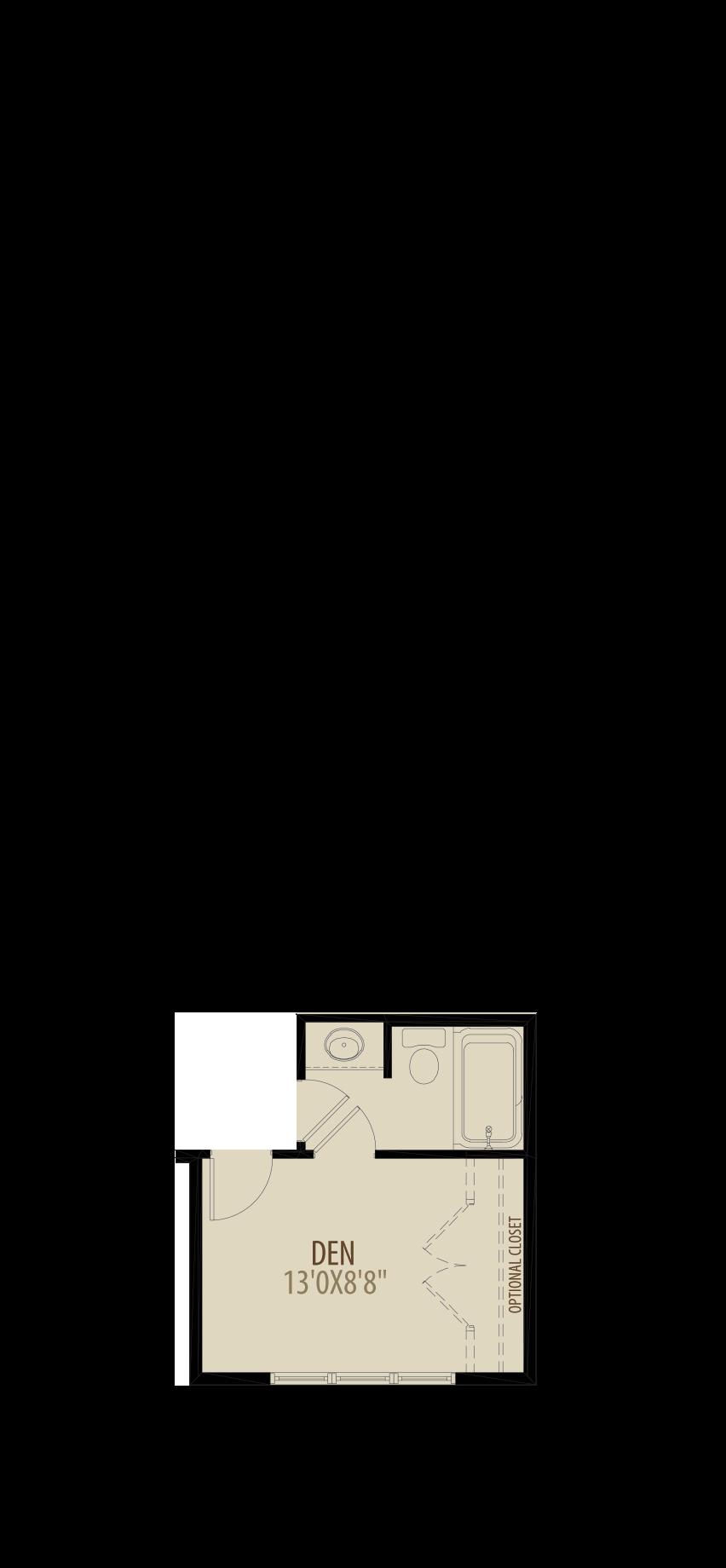 Main Floor Den