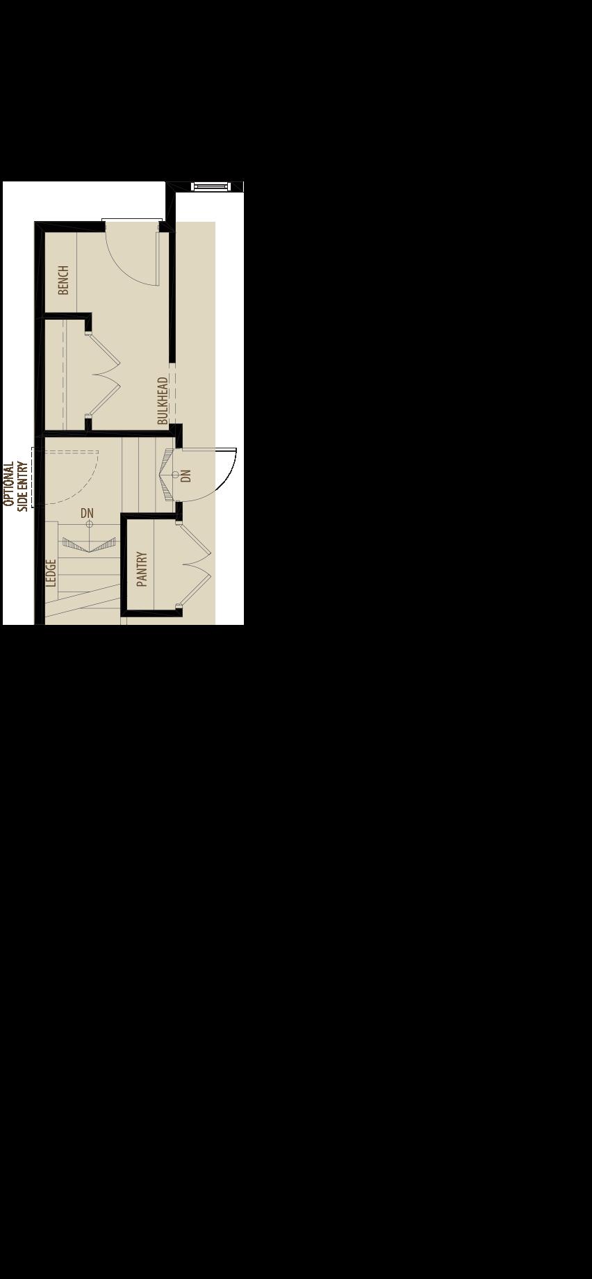 Optional Basement Stair