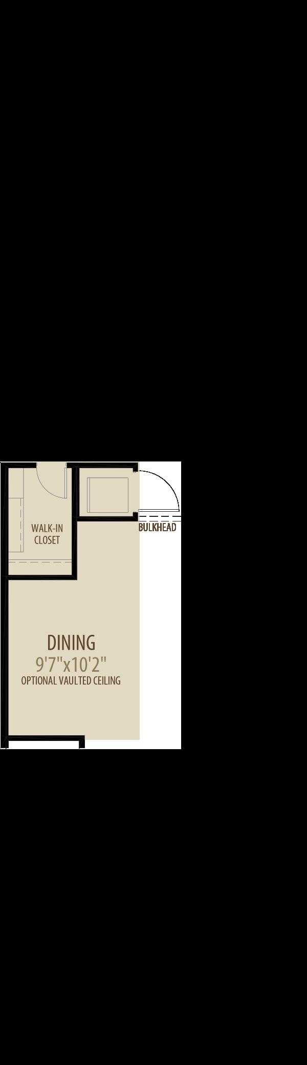 Option 1 Main Floor Laundry