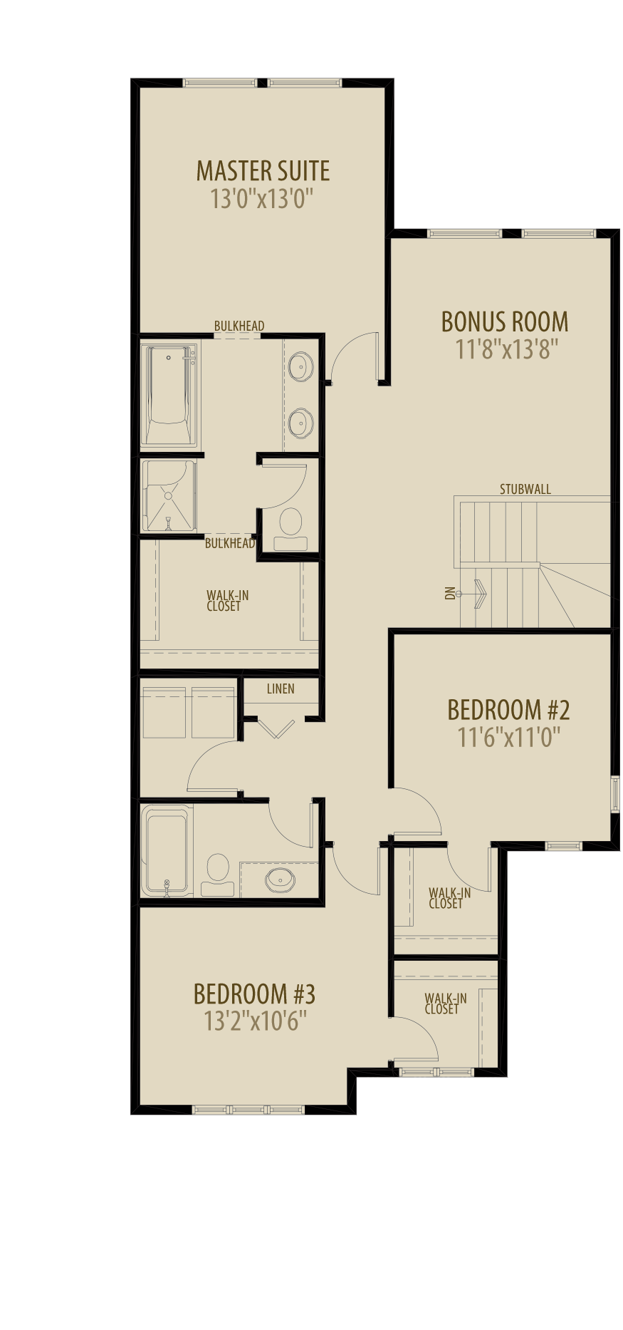 Expanded Bedroom Adds 52 sq ft