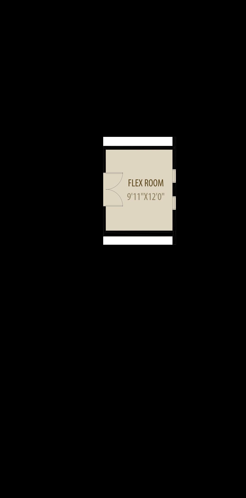Enclosed Flex Room