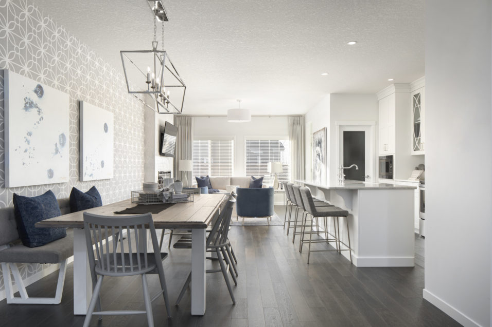 105 dining kitchen living