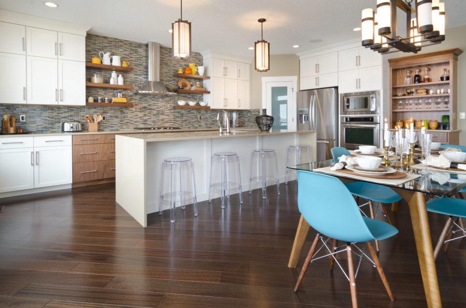 Morrisonhomes Auburnbay Vista Showhome Kitchen 2014
