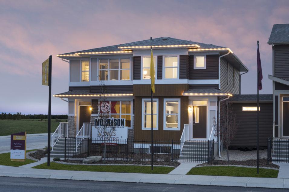 Morrison Homes Cornerstone Carter Showhome Exterior 2017