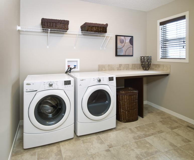 Morrisonhomes Hawksridge Sierra Showhome Laundry 2013