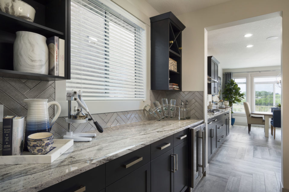 Morrison Homes Legacy Ellsworth Showhome Butlers Pantry 2016
