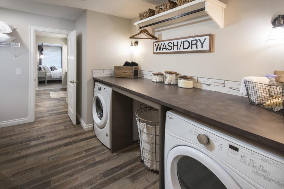 Morrisonhomes Legacy Loganii Showhome Laundry 2018