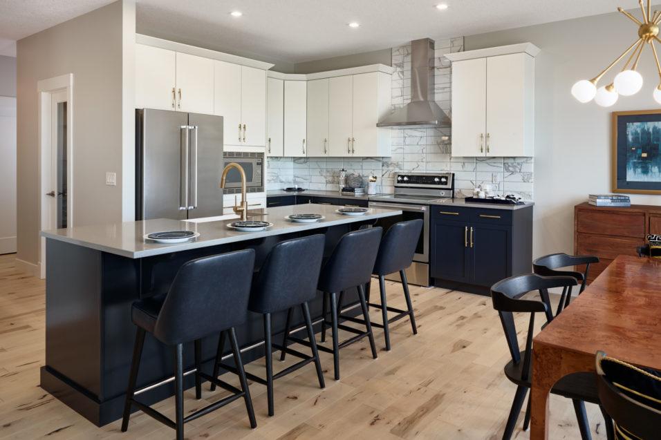 Morrisonhomes Ridgeatsagemeadows Verona Showhome Kitchen 2017