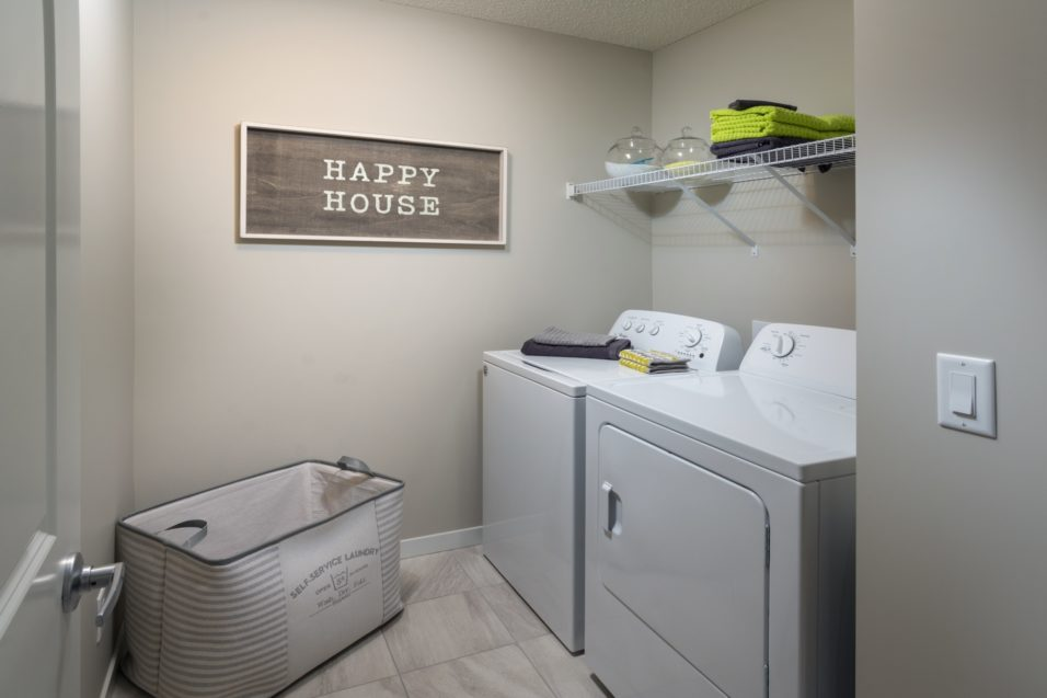Morrisonhomes Walkersummit Sonoma Showhome Laundry 2017